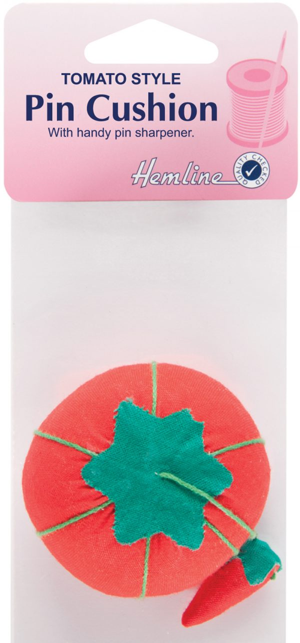 Pincushion with Attached Sharpener