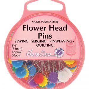 Flower/Flat Head Pins