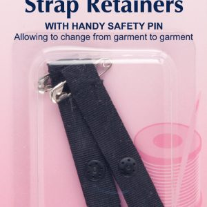 Shoulder Strap Retainer with Safety Pin