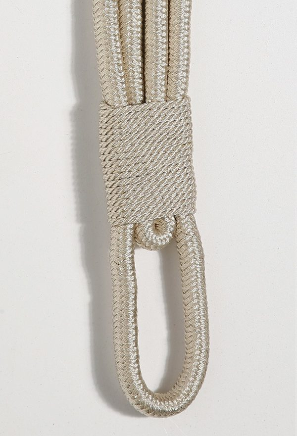 Lucy Tie Back Ivory